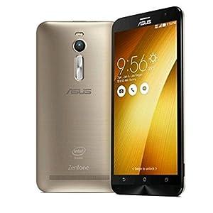 Asus ZenFone 2 ZE551ML Smartphone débloqué 4G (Ecran: 5,5 Pouces - 16 Go - 4 Go RAM - Double SIM - Android 5.0 Lollipop) Or