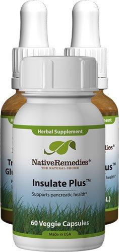 Native Remedies Diabetonic, Insulate Plus and Vizu-All UltraPack