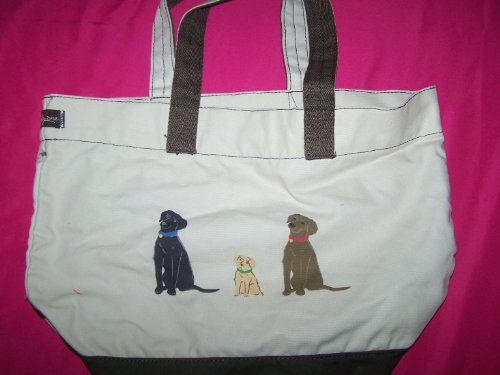 Thirty-One Lil Expressions Tote With Dogs front-362286