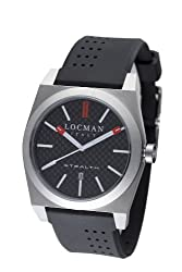 Locman Amazon Exclusive Men's 201CRBBK Quartz Stealth Sports Watch by Locman