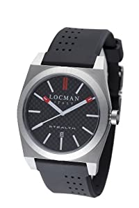 Locman Amazon Exclusive Men's 201CRBBK Quartz Stealth Sports Watch from Locman