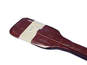 Handcrafted Nautical Decor Wooden Pembrooke Squared Rowing Oar with Hooks, 24