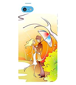Vizagbeats Couple Back Case Cover for Apple iPhone 6