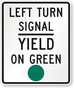 Amazon.com: Left Turn Signal Yield - 18.8KB