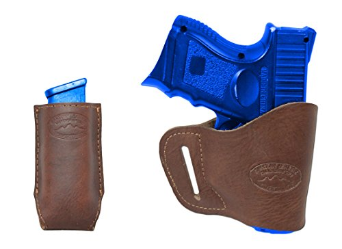 New Barsony Brown Leather Yaqui Gun Holster + Mag Pouch For Cz-P01 Cz-P07 Duty Right