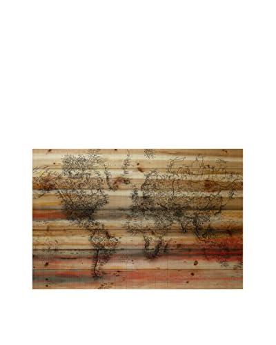 Marmont Hill Maailma Pine Wood Wall Art
