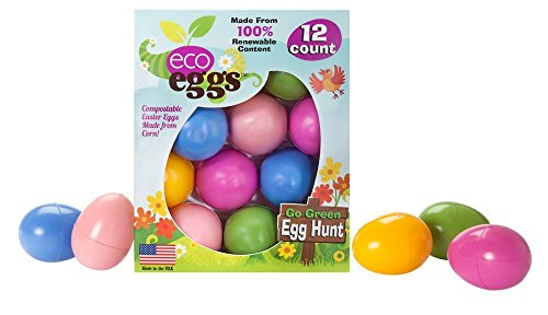 Eco Friendly Easter Eggs - 12 Count