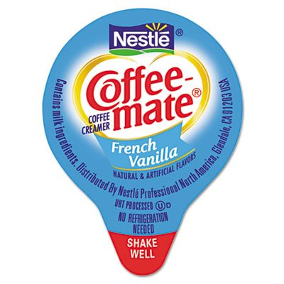Coffee-mate Liquid Coffee Creamer, Mini Cups, French Vanilla, 180/Box at Sears.com