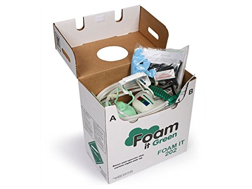 FOAM IT 202 SLOW RISE Polyurethane Spray Foam Kit (Slow Rise Spray Foam compare prices)