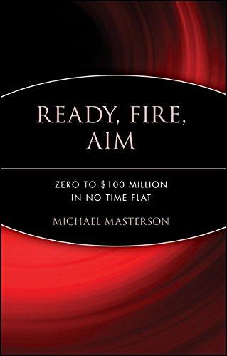 Ready, Fire, Aim: Zero to $100 Million in No Time Flat (Agora)