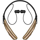 LG Electronics Tone Pro HBS-750 Bluetooth Wireless Stereo Headset - Retail Packaging - Black
