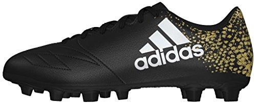 Adidas X 16.4 Fxg, Scarpe da Calcio Allenamento Uomo, Multicolore (Cblack/Ftwwht/Goldmt), 42 2/3 EU