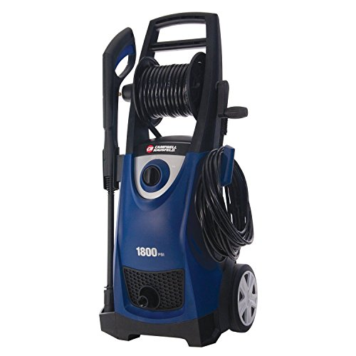 Campbell Hausfeld 1800 Psi 1.5 Gpm Electric Pressure Washer W 20' Swivel Hose