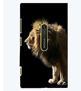 PRINTSWAG LION Designer Back Cover Case for NOKIA LUMIA 920