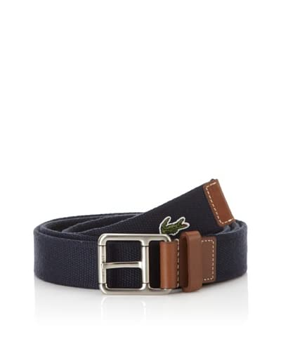 Lacoste Men's Roller Buckle Belt