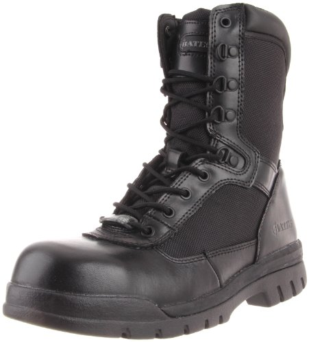 Bates Men's 8 Inches Steel Toe Side Zip Work Boot