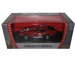 1965 Shelby Cobra Daytona Red #59 1/43 Diecast Car Model