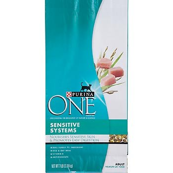 cheap purina one sensitive systems cat 7 pounds. Black Bedroom Furniture Sets. Home Design Ideas