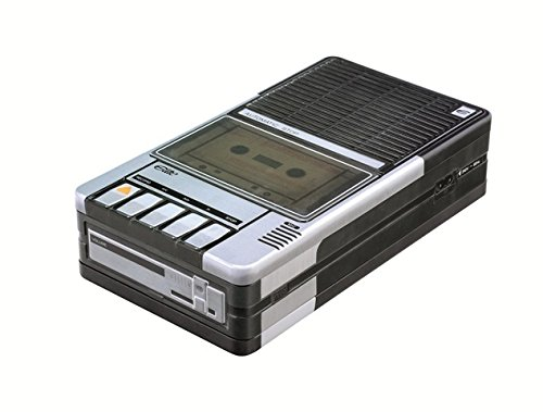 Retro Cassette Player Biscuit Tin. Looks just like the cassette player you owned in the 1970s/80s!