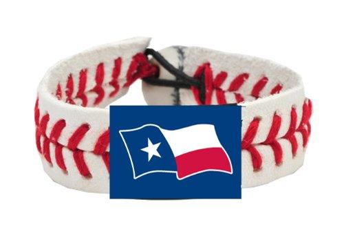 Texas Flag Classic Baseball Bracelet