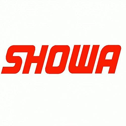 Showa - Adesivo Prespaziato - Colore Rosso - 10cm