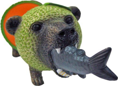 メロン熊 マグネット 鮭ver.