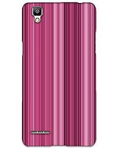 Hugo Oppo F1 Back Cover Hard Case Printed Designer Multicolour