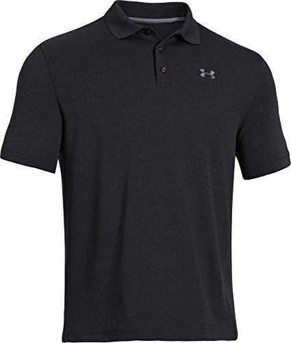 Under Armour UA Performance Polo Maglia con Maniche Corte - Nero (Nero) - S