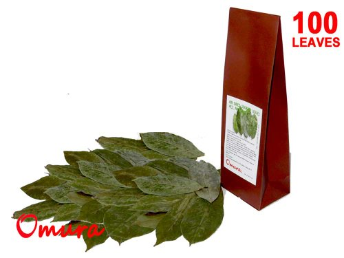 Soursop Dried Leaves By Omura Products, Pack 100+ Leaves