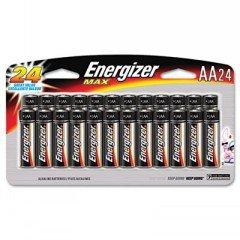 Energizer Alkaline Batteries AA 24Pk