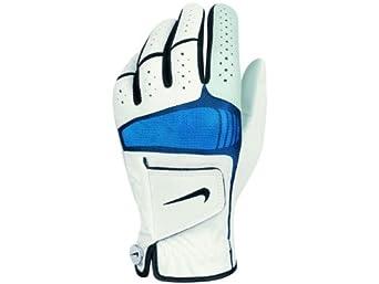 2012 NikeTech Xtreme Cabretta Leather Golf Glove Left Hand White/Black Medium-Large