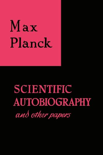 Image of Scientific Autobiography and Other Papers