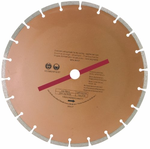 24398 12-inch 300mm Dry Cut Diamond Blade 24398 24398 By Rolson