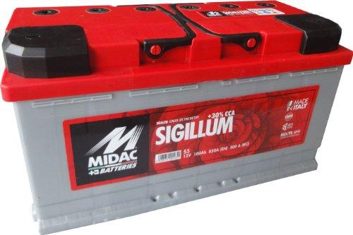 Autobatterie Midac Sigillum S5 12V 100Ah 850A