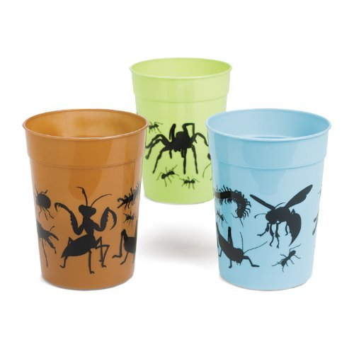 Plastic Bug Tumblers (1 dz) by Fun Express