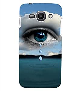 ColourCraft Beautiful Eye Design Back Case Cover for SAMSUNG GALAXY ACE 3 3G S7270