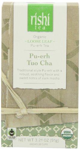 Rishi Tea Pu-Erh Tuo Cha, 3.21 Ounce