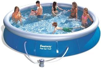 Bestway 57120US Fast Set Pool Set, 15-Feet by 36-Inch