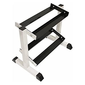Buy USA Sports by Troy Barbell 2-Tier Compact Dumbbell Rack by Troy Barbell