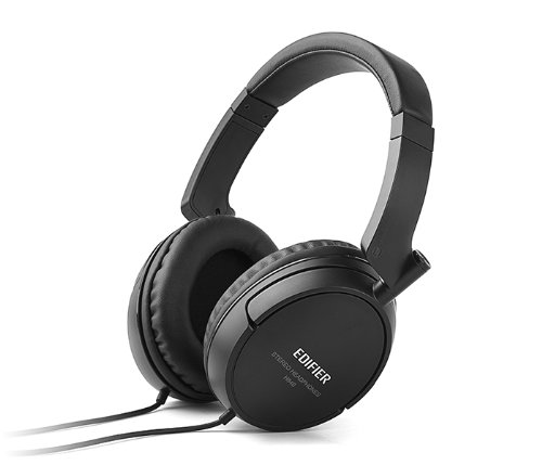 Edifier H840 Hi-Fi Over-Ear Noise-Isolating Headphone - Black