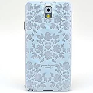 Ice Flowers Pattern Hard Case for Samsung Galaxy Note 3 N9000