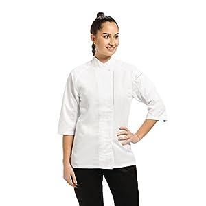 Chef Works VSWO-WHT-M V-series Verona Women's Chef Coat