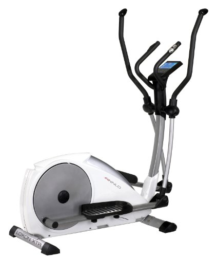 Finnlo Loxon XTR Electromagnetic Cross Trainer - Silver/White