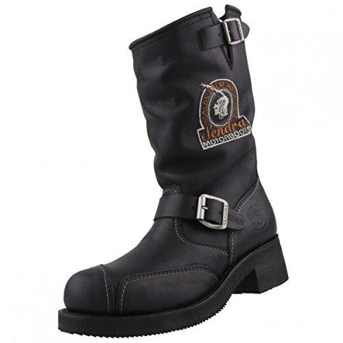 Sendra Boots, Stivali da motociclista donna, Nero (Nero), 40