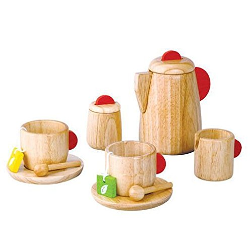 Plan Toy Tea Set(Solid Wood Version) JungleDealsBlog.com