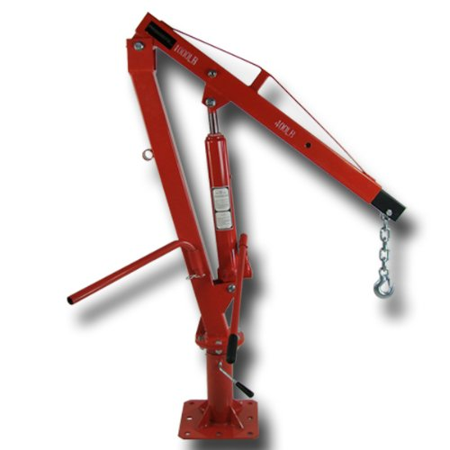 1000 Lb Pickup Truck Hydraulic Pwc Dock Jib Engine Hoist Crane Mount Lift