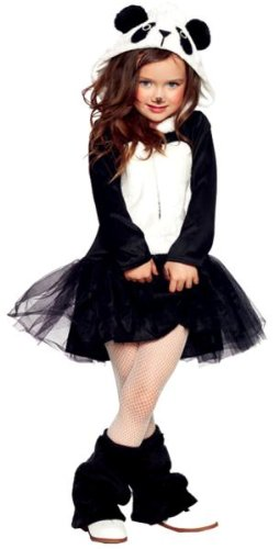 Costumes For All Occasions Uac48180Lg Pretty Panda Large 10-12 front-821729