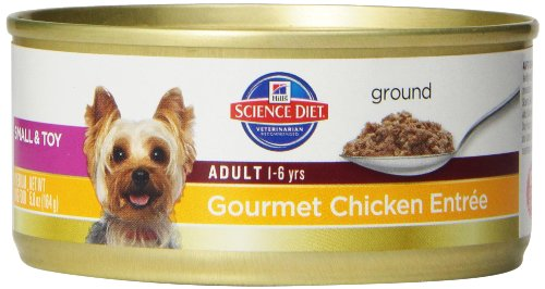 Hill'S Science Diet Adult Advanced Fitness Savory Chicken Entree Dog Food, 5.8-Ounce Can, 24-Pack