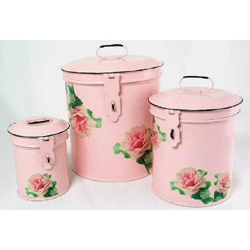 Pink for kitchen on pinterest pink kitchens vintage for Kitchen set amazon