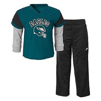 NFL Philadelphia Eagles Infant/Toddler Jersey Style Pant Set